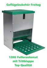 Futterautomat mit Trittklappe 12 kg Kostenloser Versand
