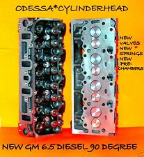 NEW 2 GM CHEVY 6.5 DIESEL(90°) ANGLE CYLINDER HEAD HEADS #567 NO CORE