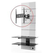Support TV articulé noir pastille noire pour meuble GHOST DESIGN 2000/3000*NEUF*