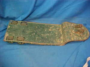 1950s TONKA Pressed Steel HI WAY LOW BOY TRAILER Needs Restoration