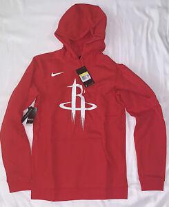 Men's Houston Rockets Nike Club Fleece Pullover Hoodie Small NWT $70