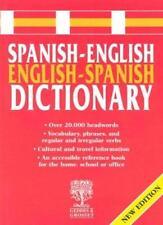 Spanish-English Dictionary,Geddes & Grosset