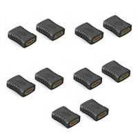 10Pcs Hdmi Female To Female Coupler Extender Adapter Connector F F For Hdtv Hdcp