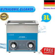 3L Ultraschallreiniger Ultraschallbad Ultraschall-Reiniger Reinigungsgerät