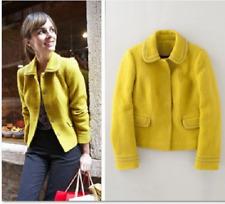 BODEN Notra Dame Jacket,  10R,  Sulphur  Yellow