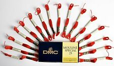 DMC Mouline Special 25 - Cross Stitch Thread 16 Skeins x 4 Metre Long - 350 Red