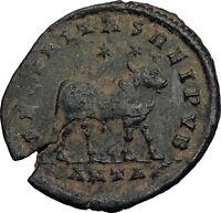 Beautiful As Found Rome Mint Zurqieh aa8840 Constantius Ii Ae 3