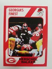 Herschel Walker Action 1989 Collegiate Collection Georgia Bulldogs UGA Dawgs NM