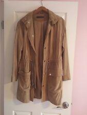 Ralph Lauren Black Label Woman's Suede Trench Coat