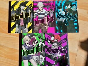 Blood Lad Manga Band 1-5