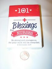 New Sealed 101 Blessings for Nurses 2 Chronicles 15:7 Box of Blessings Religious