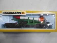 Bachmann Great Northern Flat Car w Missile 1225