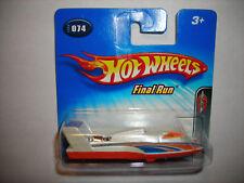 2005 HOT WHEELS FINAL RUN #74 HYDROJET SHORT CARD RARE NICE FREE SHIPPING LOOK!!