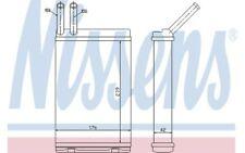 NISSENS Radiador de calefacción VOLVO 940 740 760 780 S90 V90 960 73642