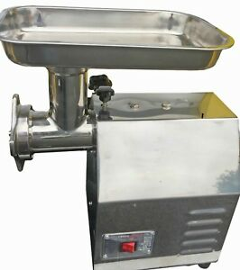 Davlex Commercial Mincer Butchers Meat Grinder Heavy Duty 120K Per Hour Size 12