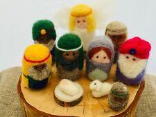 NEEDLE FELTING KIT  Christmas Nativity Scene   Claire's Crafts Felting Shop