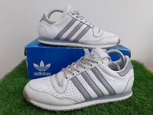 Adidas Originals Galaxy ll 2009 White/Grey Men's Vintage Trainers Size UK 8