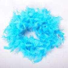 Qualité Bleu Plume Boa Boas Enterrement Jeune Fille Burlesque Dance Party Show Costume