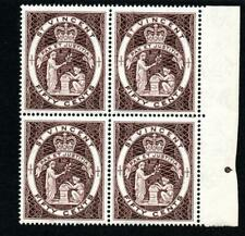 St. Vincent 1965 Perf 14 MNH  Block of 4 SG 220 Cat. £36