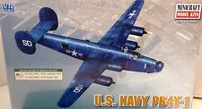 1/72 Scale Minicraft Models 'U.S. Navy PB4Y-1' Kit #11659