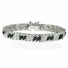 Silver Plated Black Natural Fine Jewellery