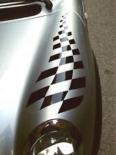 bonnet stripes scacchiera Fasce Adesive Grafica per mini cooper tuning