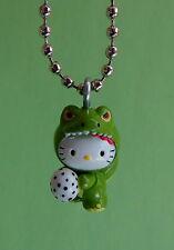 Sanrio Hello Kitty Godzilla Necklace - Charm Pendant- Dinosaur with Egg