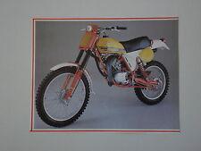 - RITAGLIO DI GIORNALE 1982 MOTO PUCH GS 80 W