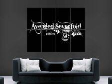 AVENGED SEVENFOLD BAND MUSIC  POSTER PRINT GIANT
