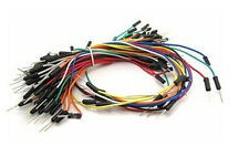 65pcs Solderless Flexible Breadboard bread board Jumper Patch Pin Cable Wires