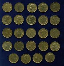 FRANCE REPUBLIC 10 FRANC COINS: 1950,1951,1952,1953,...