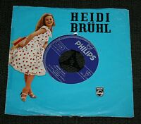Single Heidi Brühl Wir wollen niemals auseinandergehn / Mister Love