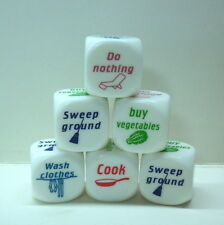 Funny Home Dice Couples Families Housework Distribution Dice Fun Game Nice Play
