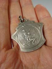 Médaille Pendentif Art Nouveau Ch Commerce D'Epinal Patria Auspice Labor signée