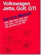 Volkswagen Jetta, Golf, GTI Service Manual : 1999-2003
