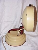 VINTAGE 50'S RETRO HEAT LAMP KITSCH GREAT TO CONVERT TO A TABLE LAMP SPACE AGE