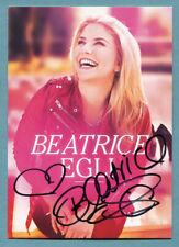 Beatrice Egli   Autogrammkarte von 2014