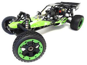 1/5 Rovan RC 305A Gas Buggy RTR 30.5cc HPI Baja 5B King Motor Compatible Green!
