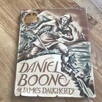 DANIEL BOONE by James Daugherty Newbery Medal 1940 2nd Printing VTG Hardcover