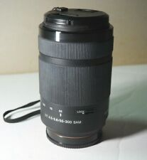 Sony SAL SAL55300 55-300 mm APS-C DT 55–300 mm F4 .5 –5.6 SAM Zoom Lens