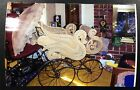 1800 s Ornate Victorian Swan Form Wicker Pram in Great Condition Very Rare Style