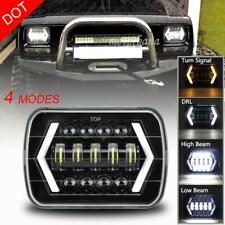 "7""x6"" LED Headlight Headlamp For Chevy Express Cargo Van 1500 2500 3500 Truck"