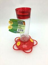 Ruby Hummingbird Feeder: Red & Yellow I More Birds I MN45