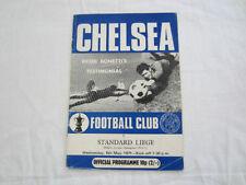 Chelsea Football Testimonial Fixture Programmes (1970s)