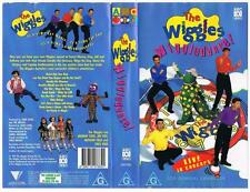 THE WIGGLES - WIGGLEDANCE  *RARE VHS TAPE*   ABC