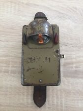 nice WW2 German flashlight with cap and filters