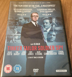 Tinker Tailor Soldier Spy DVD (2012) NEW/SEALED Colin Firth Cert 15 Region 2 UK