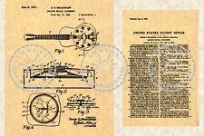 NATIONAL DUOLIAN TRIOLIAN Resonator Guitar Patent #746