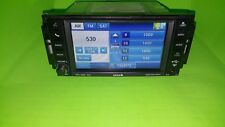 2011 CHRYSLER/DODGE/JEEP MyGig RHB 430N Navigation Radio Sirius CD Player