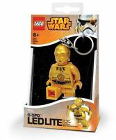 LEGO Star Wars C-3PO LED Key Light Key Chain by Santoki NEW